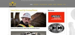 Web design example by Lithium Marketing