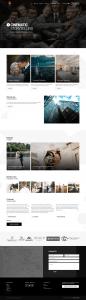 Fireside media - screenshot of web design